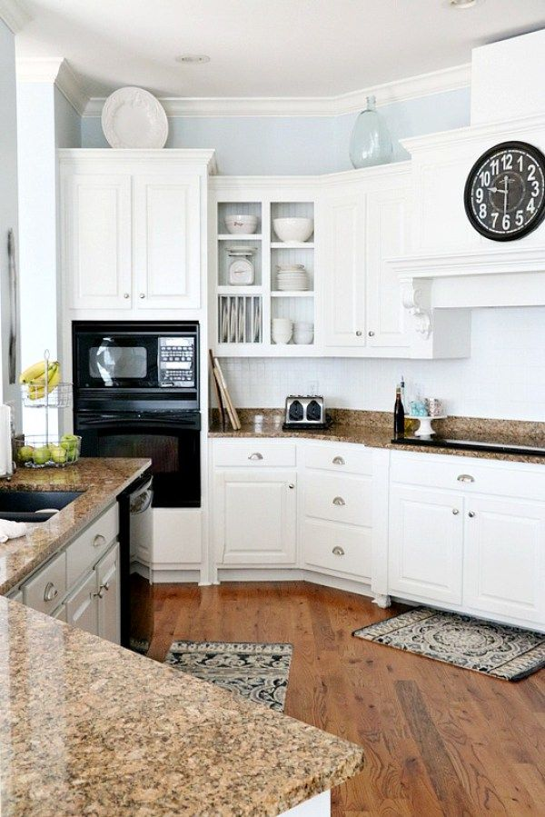 Pros and Cons of Painting Kitchen Cabinets White ...