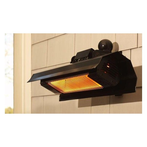 Wall Mounted Infrared Patio Heater ($249) ❤ Liked On Polyvore Featuring  Home,