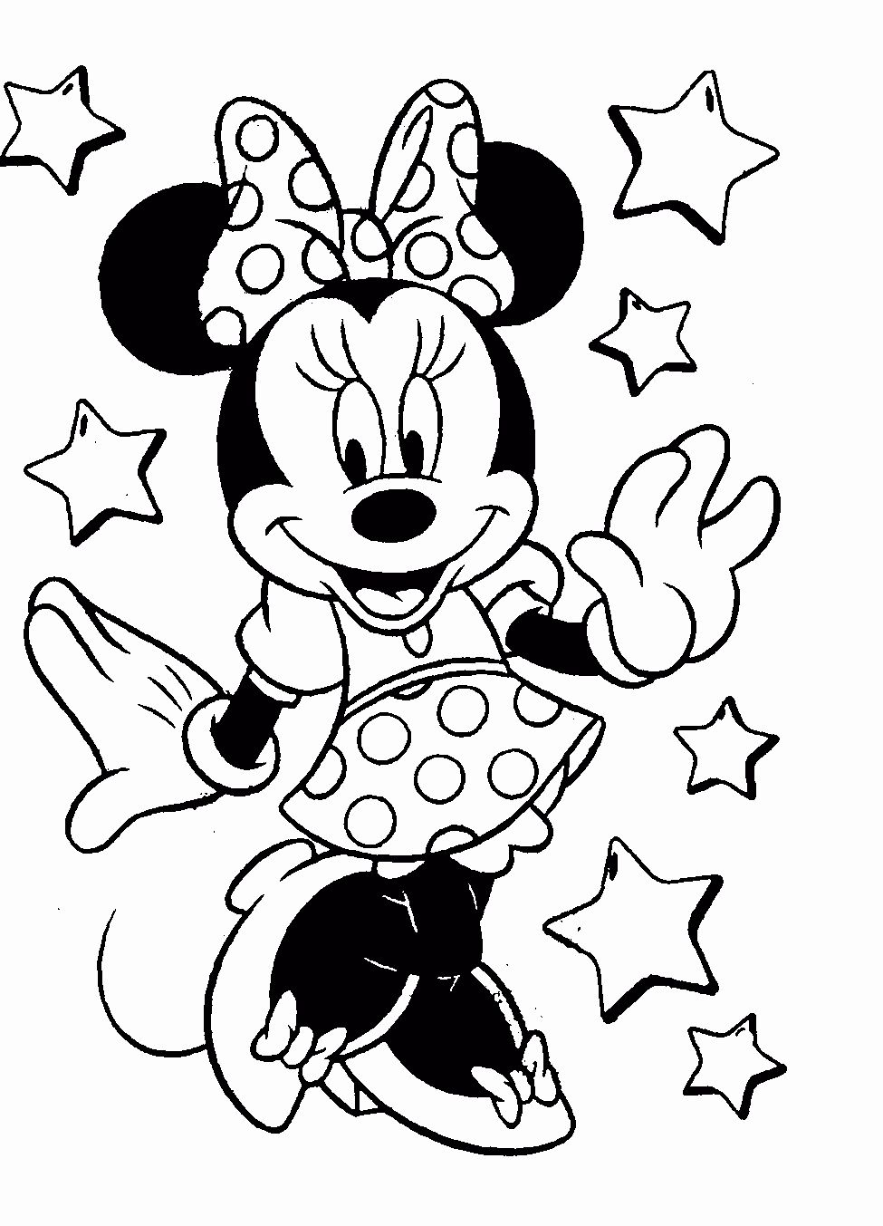 Coloring Pages For Kids To Print Disney In 2020 Free Disney Coloring Pages Mickey Mouse Coloring Pages Minnie Mouse Coloring Pages