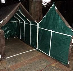 Free plans and pictures of PVC pipe projects. & Free plans and pictures of PVC pipe projects.   Greenhouses Garden ...