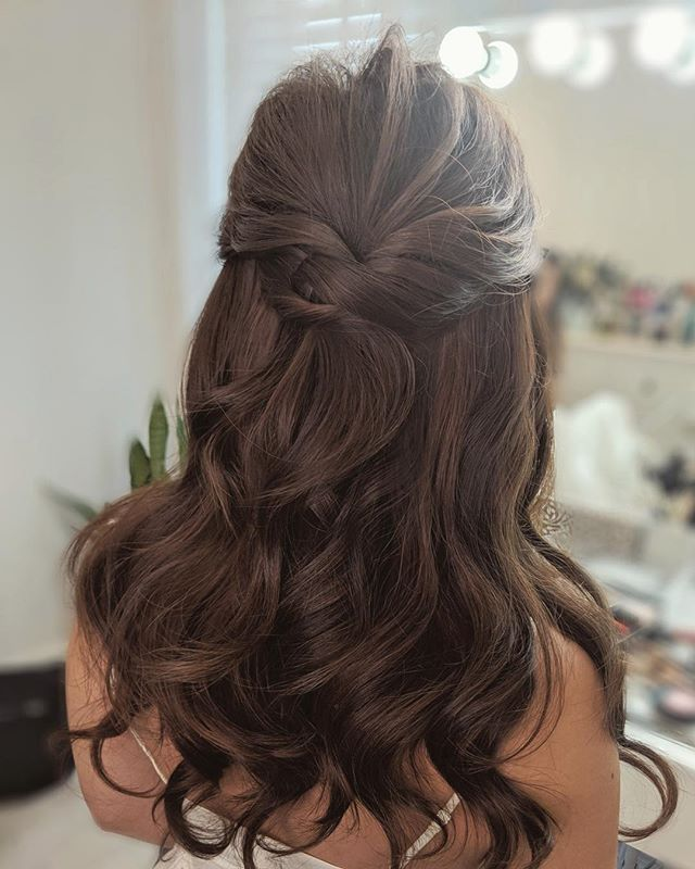 "Sophie Lau on Instagram: ""Karen Photo from her #googlephone Makeup and hair @sophielaumakeup‬‬. . . . . . . . #weddinghair #weddinghairstyle #bridalhair…"""