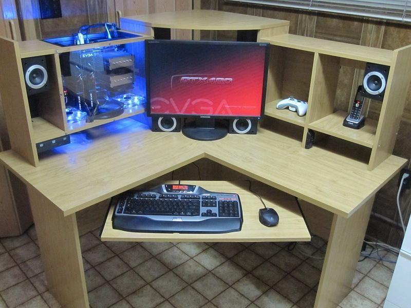 diy computer desk diy gaming computer desk diy computer desk plans computer desk - Custom Computer Desk Ideas