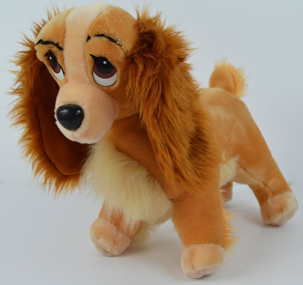 Lady And The Tramp 17 Plush Disney Dog Stuffed Animal Large