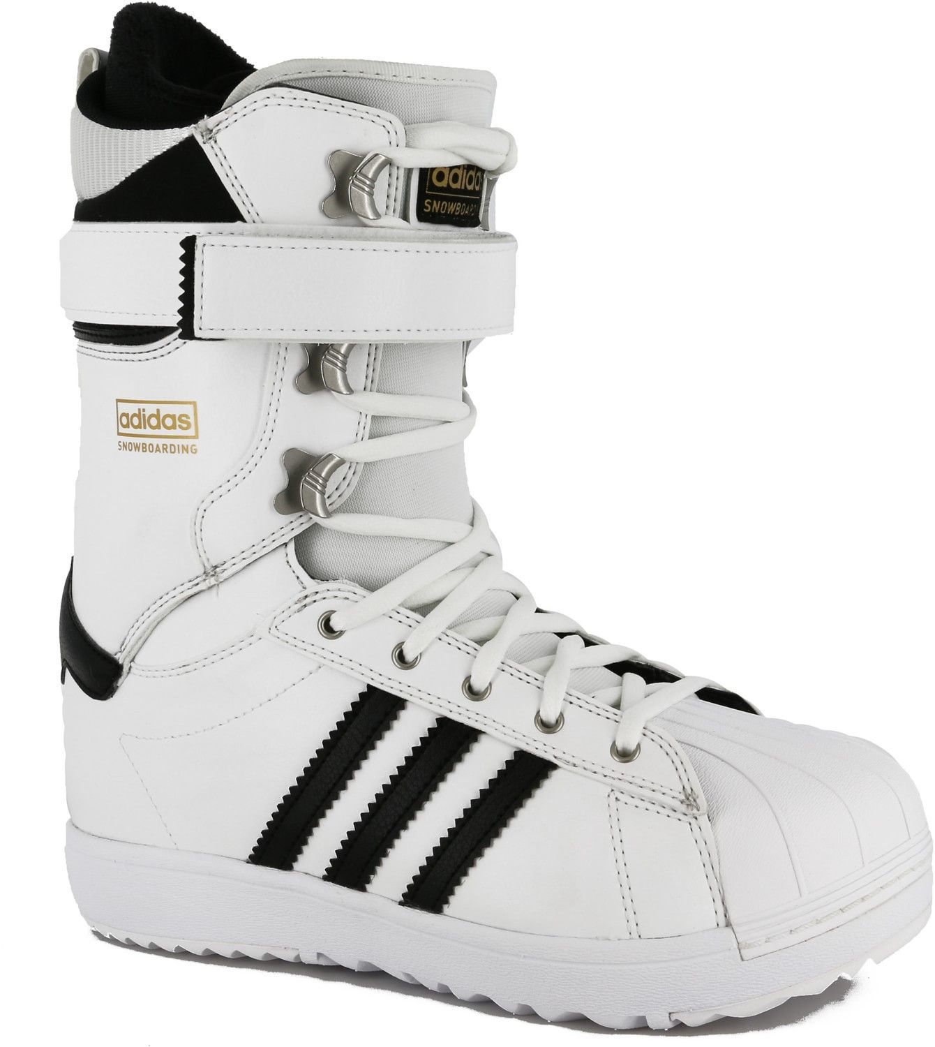 Adidas The Superstar Snowboard boot white / black / gold