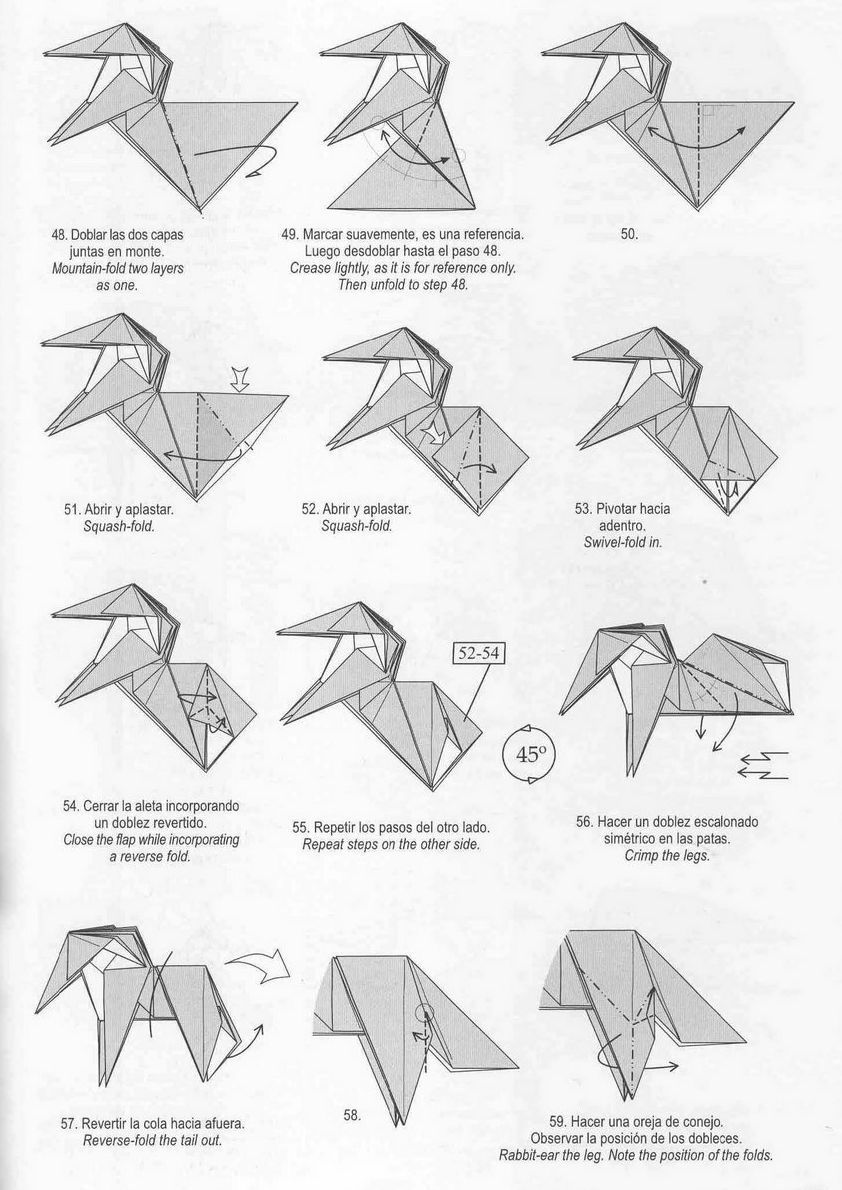 marvelous origami unicorn instructions origami