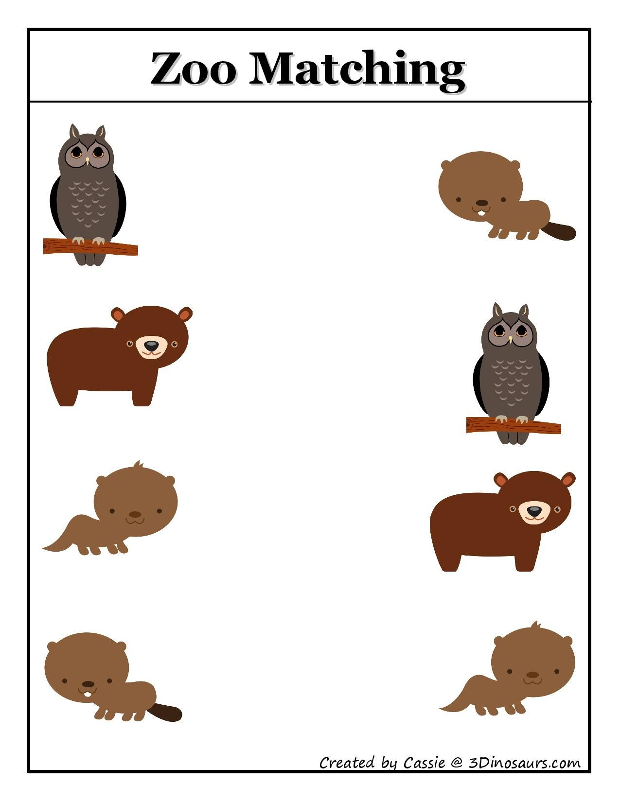 Stomping Romping And Roaring Printables Gross Motor Crafts More Animal Activities For Kids Zoo Activities Zoo Animal Activities