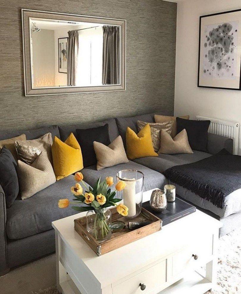61 Cozy Modern Farmhouse Living Room Decor I