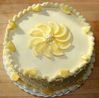Lemon Birthday Cake Lemon Birthday Cakes Cake Lemon Cake Easy