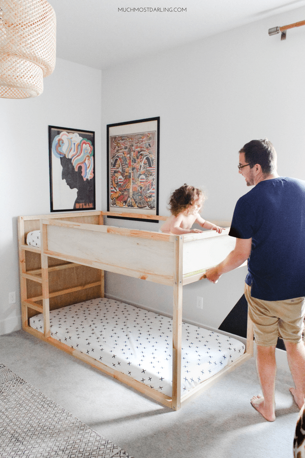 DIY Ikea Hack: KURA Toddler Bunk Bed -   18 diy projects For Boys ikea hacks ideas