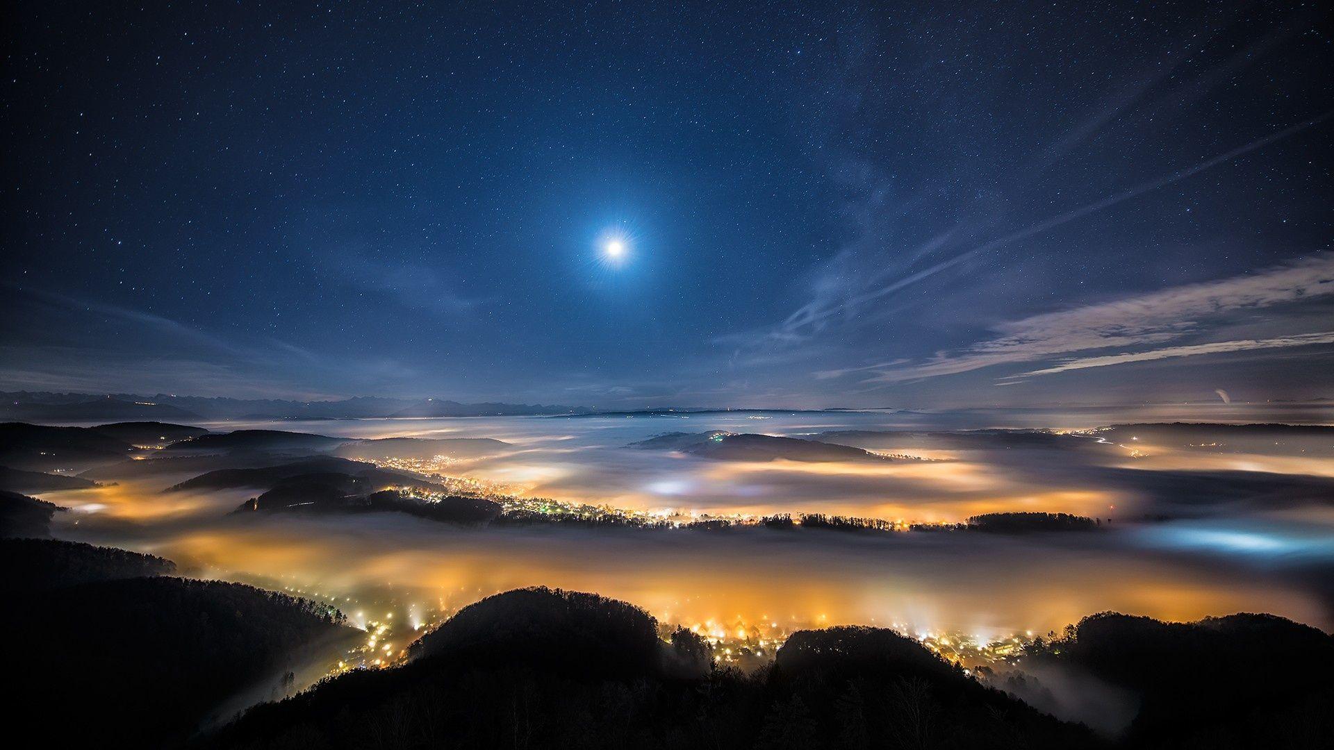 Night Sky Star Lights