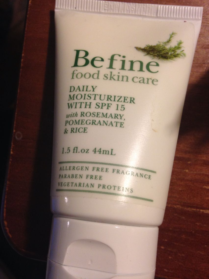 Be Fine Daily Moisturizer With Spf 15 1 5fl Oz Swatched Once Paraben Free Products Moisturizer With Spf Moisturizer