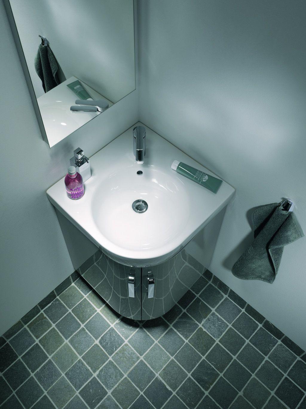 Meuble Sous Vasque Salle De Bain Mr Bricolage ~ Nieuw Ruimtebesparend Badkamerconcept Voor De Kleine Badkamer
