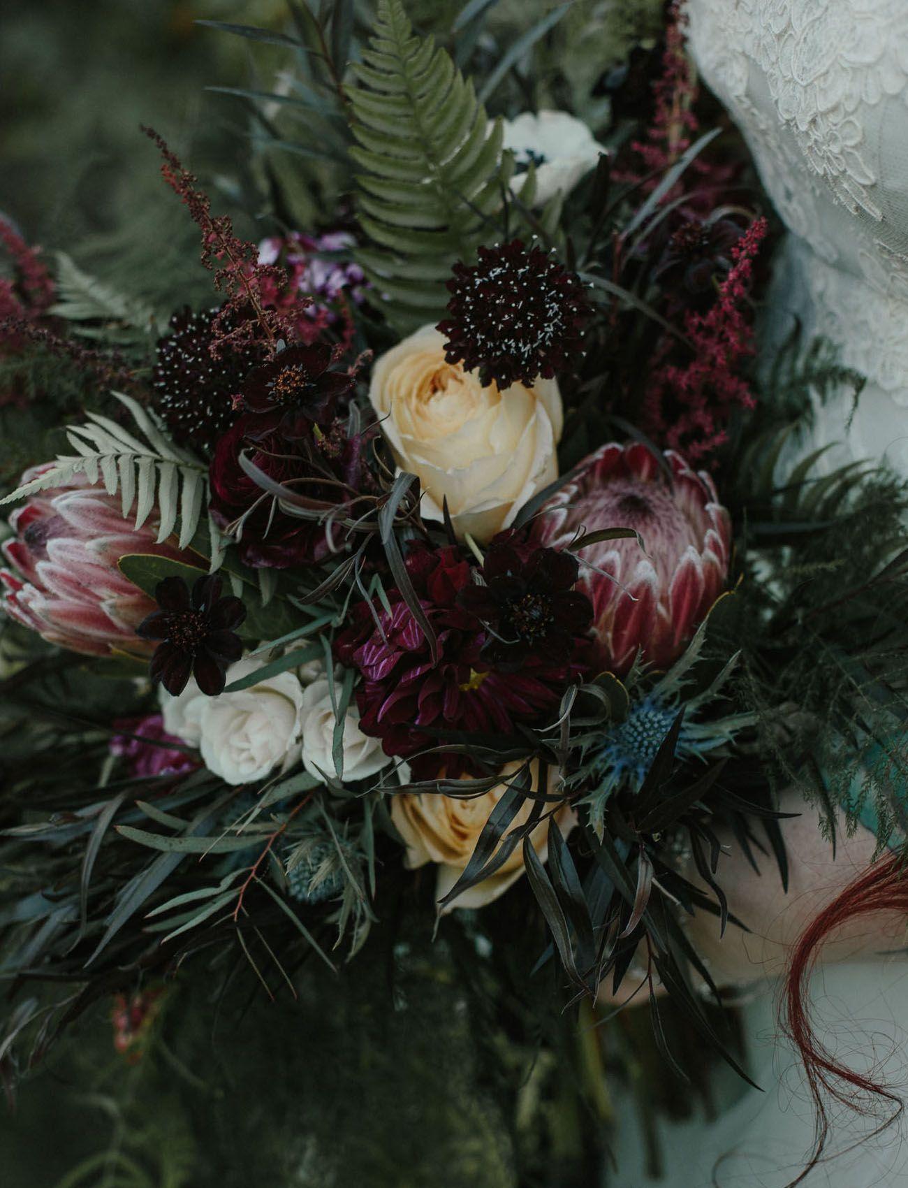 protea bouquet wildbouquet bridalbouquet protea