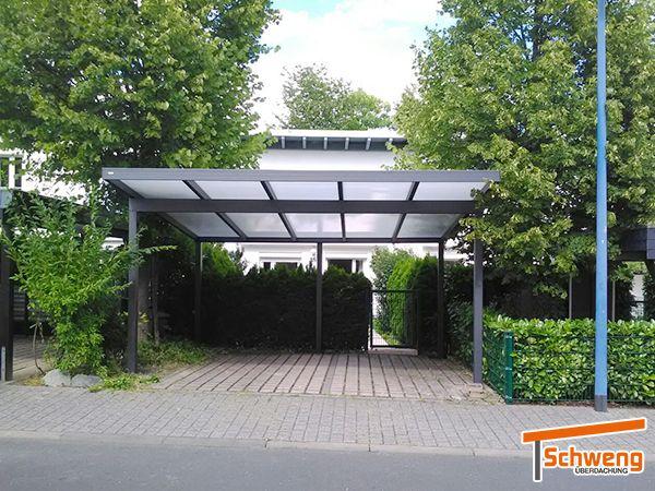 Referenzen Schweng Gmbh Qualitat Direkt Vom Hersteller Carports Haus Aussen Carport Aus Aluminium