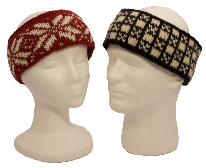 Easy Colorwork Headbands Knitting Pattern | Crochet | Pinterest
