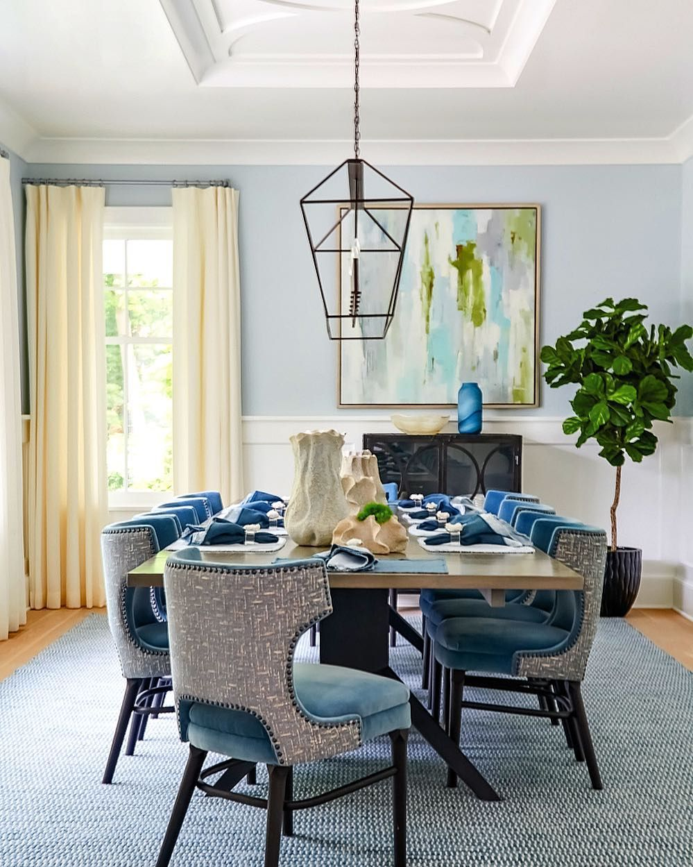 Luxe Interiors Design On Instagram Bring On The Blues
