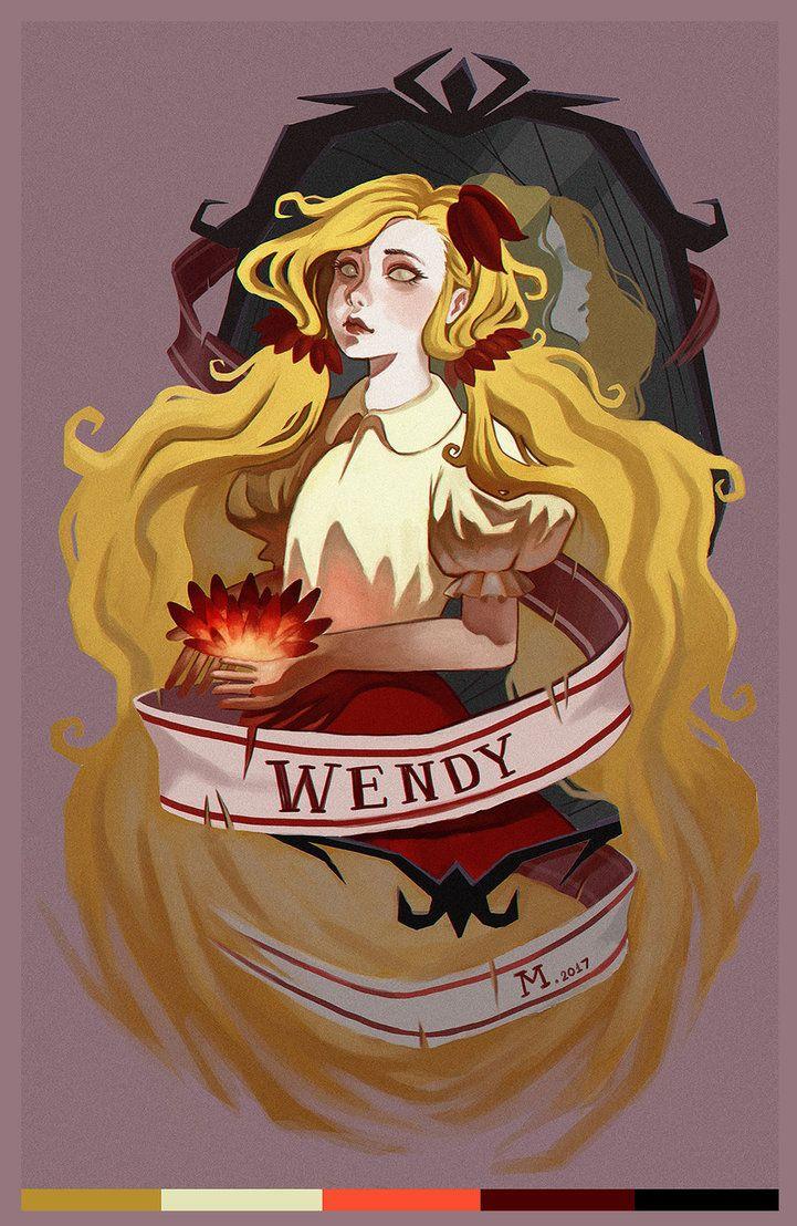 картинки по запросу Wendy Dont Starve Fan Art Games Pinterest