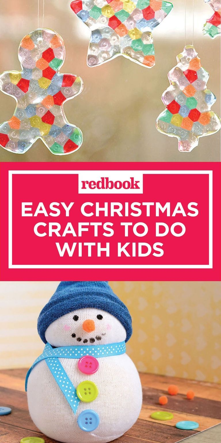 Easy-Christmas-Crafts-Pinterest | Crafts | Pinterest | Craft, Girl ...