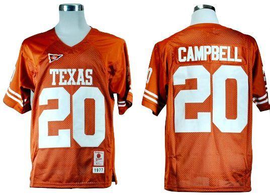 official photos 32f77 5b7d7 mens texas longhorns custom replica football jersey 2015 orange