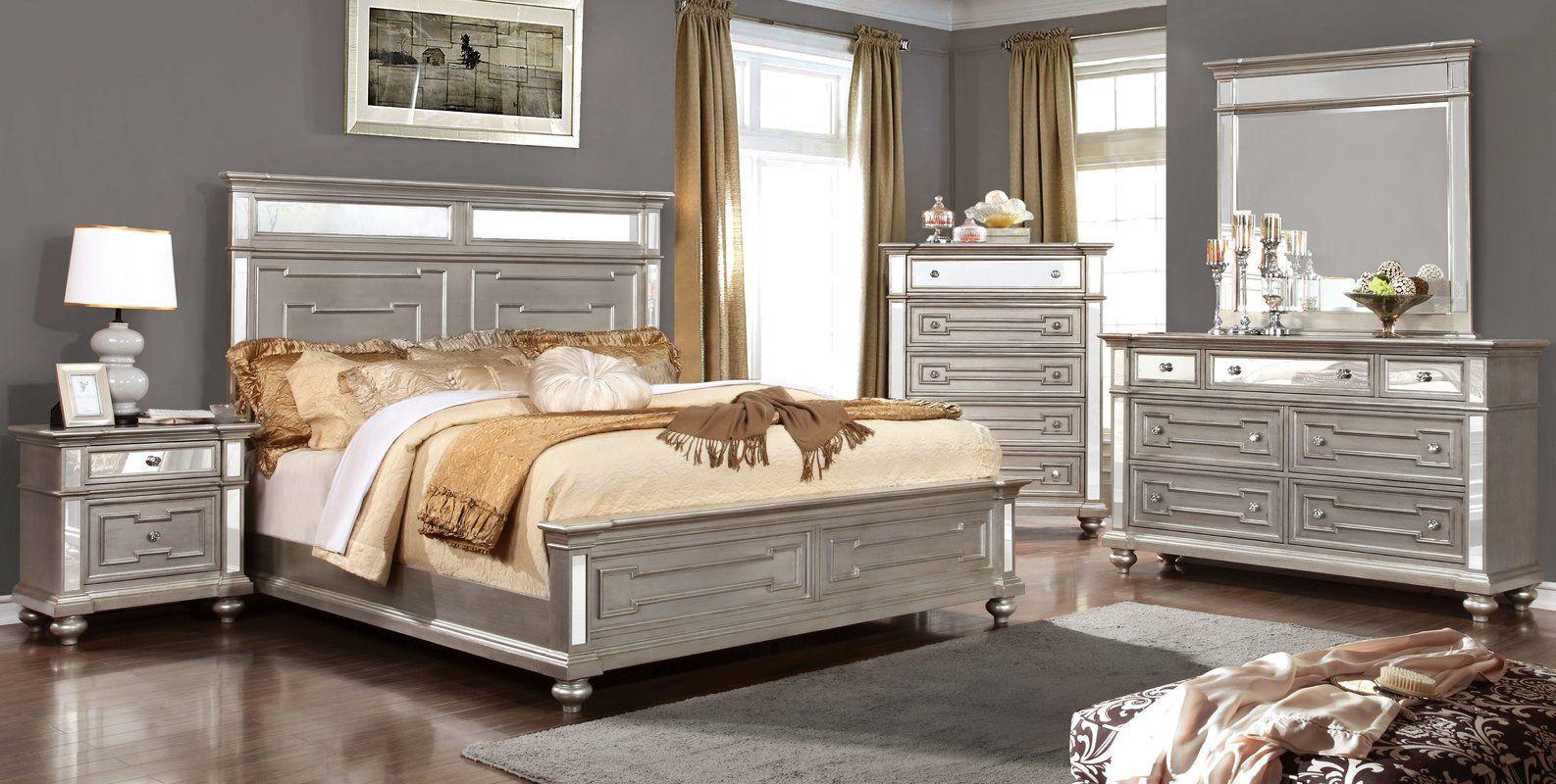Ronna Platform Configurable Bedroom Set Country Bedroom Furniture Bedroom Set Contemporary Bedroom Furniture Sets