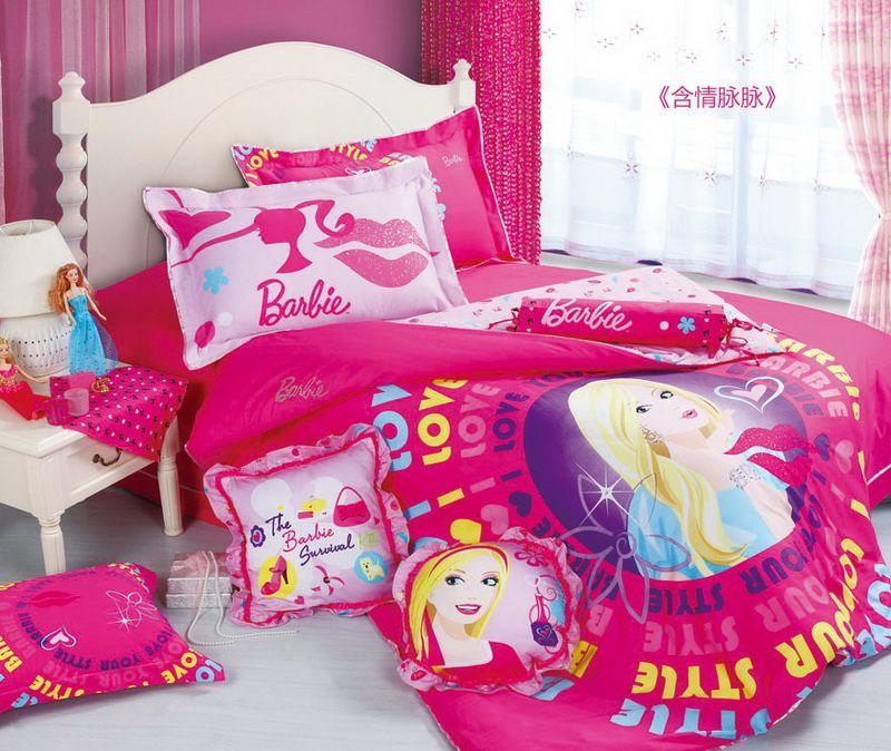 Languishing Rose Barbie Bedding Set Barbie Duvet Cover Set