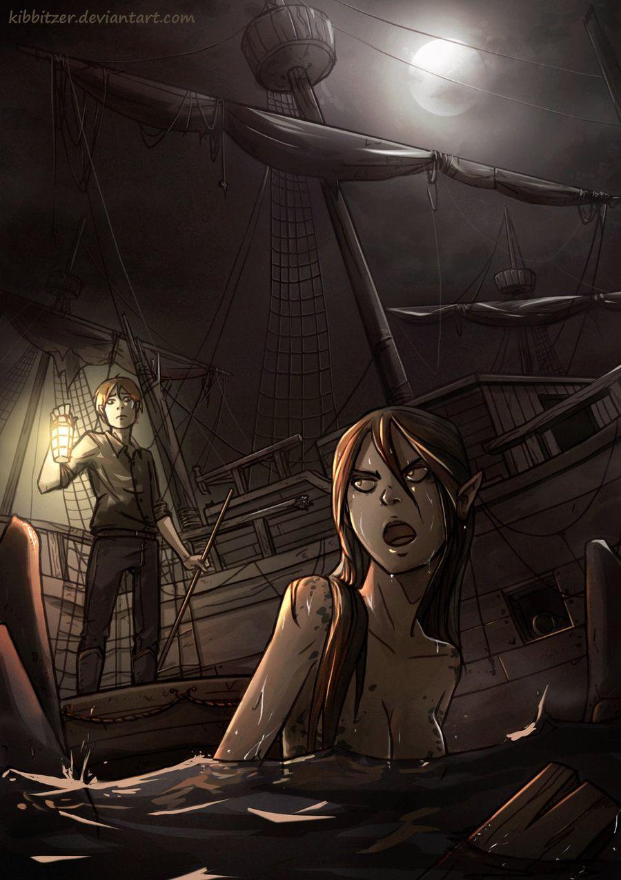[one-way ticket to ships graveyard mothafucka by Kibbitzer.deviantart.com on @deviantART]