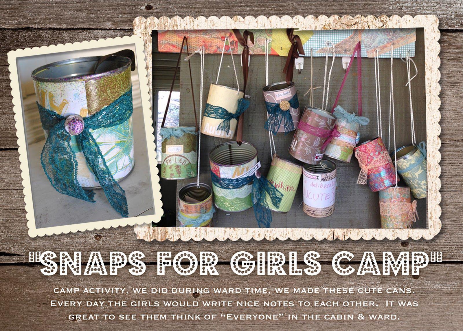 Best Girls Camp Crafts