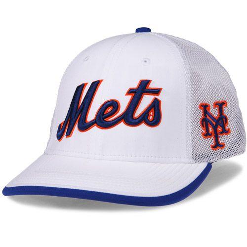 48027bfda7599 New York Mets Dri-FIT Fabric Mix Swoosh Flex Stretch Fit Cap by Nike -  MLB.com Shop