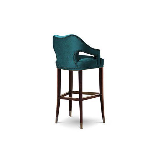 Epic Barstuhl Messing Beistelltisch Modernes Design Minimalismus Design Minimalist Decor Designer M bel