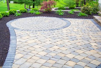 find this pin and more on back patio patio paver stone designs diy makeover ideas