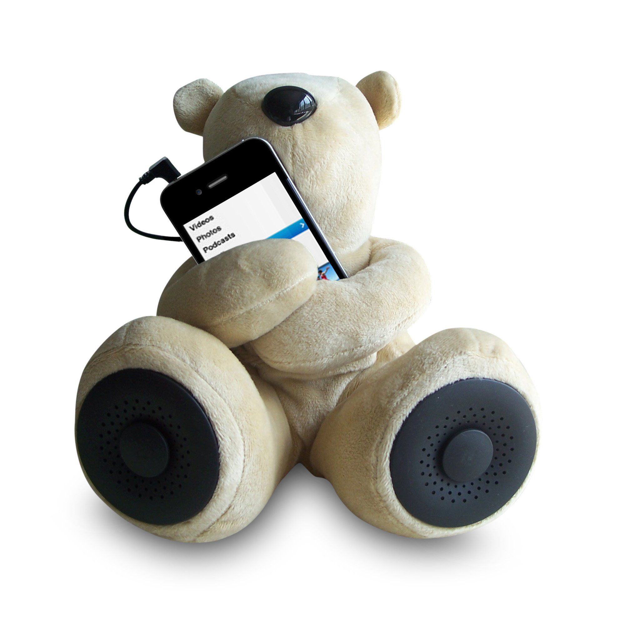 Sungale S-T1 Teddy Speaker for iPod Smartphone MP3 iPhone