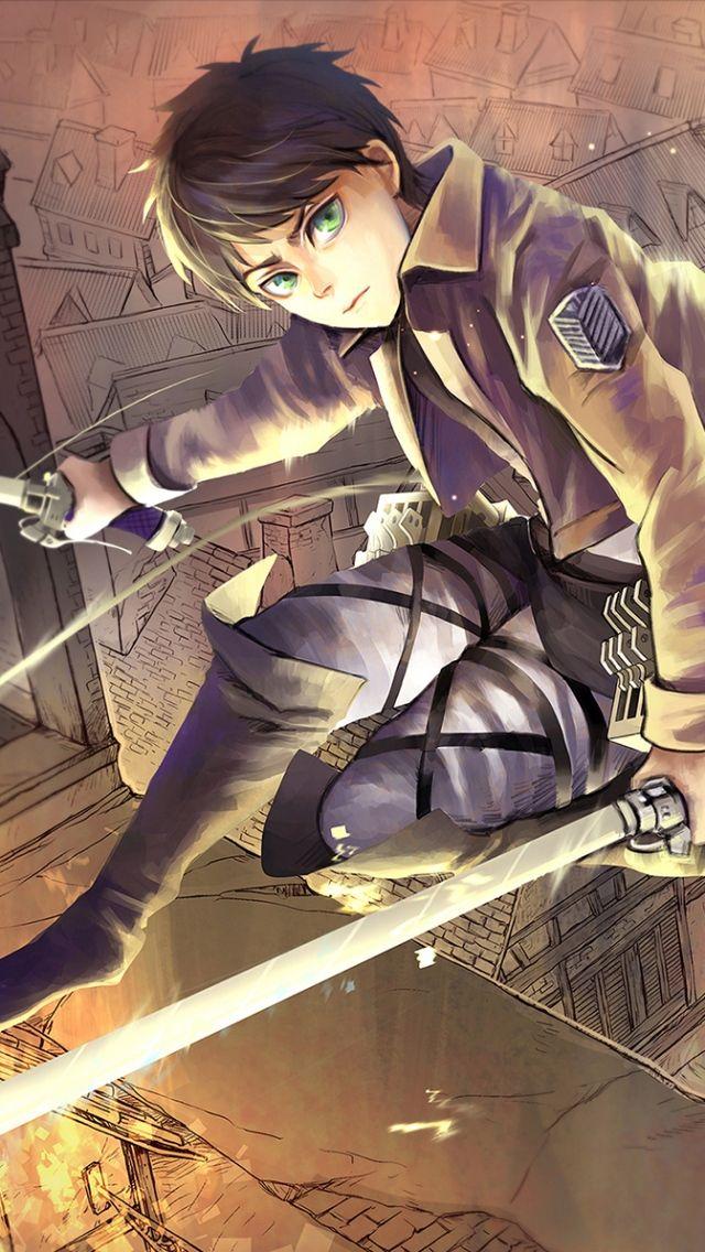 Iphone 5s 5c 5 Eren Jaeger Wallpapers Hd Desktop Backgrounds Attack On Titan Anime Attack On Titan Attack On Titan Eren