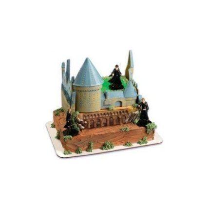 Cake Decorating Toy Kits : Amazon.com: Harry Potter Castle Cake Decorating Kit: Toys ...
