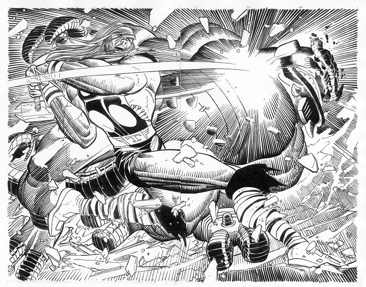 Thor by John Romita Jr. for Marvel Comics. Boom.