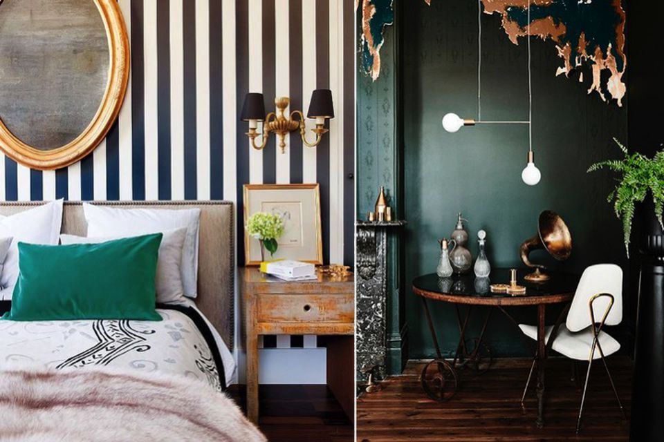 Dark Green The Interior Trend You Need Right Now How To Style