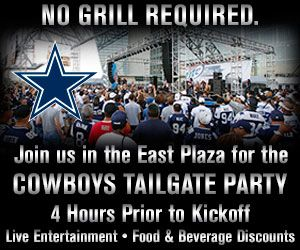 Events Tailgate Party Cowboys Family Parties