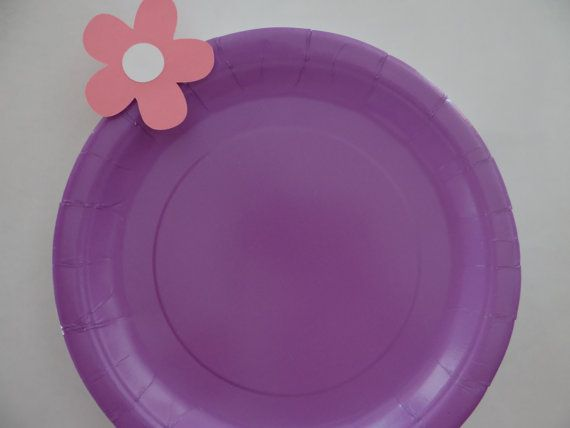 NEW ITEM Doc McStuffins Plates set of 10 by kandu001 on Etsy, $6.99