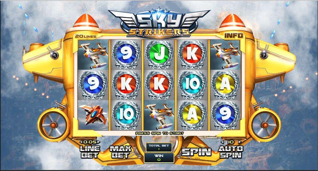 Spiele Sky Strikers - Video Slots Online