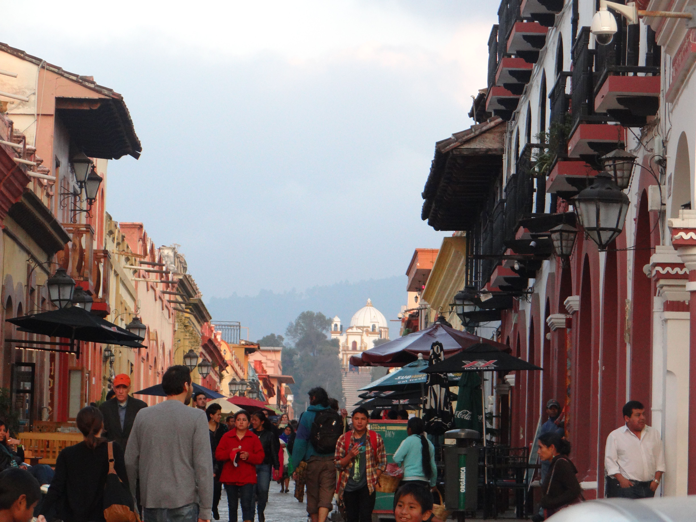 San Cristobal de las Casas,Andador: Guadalupe   Chiapas ...