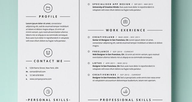 17 Best Images About Resume On Pinterest | Infographic Resume