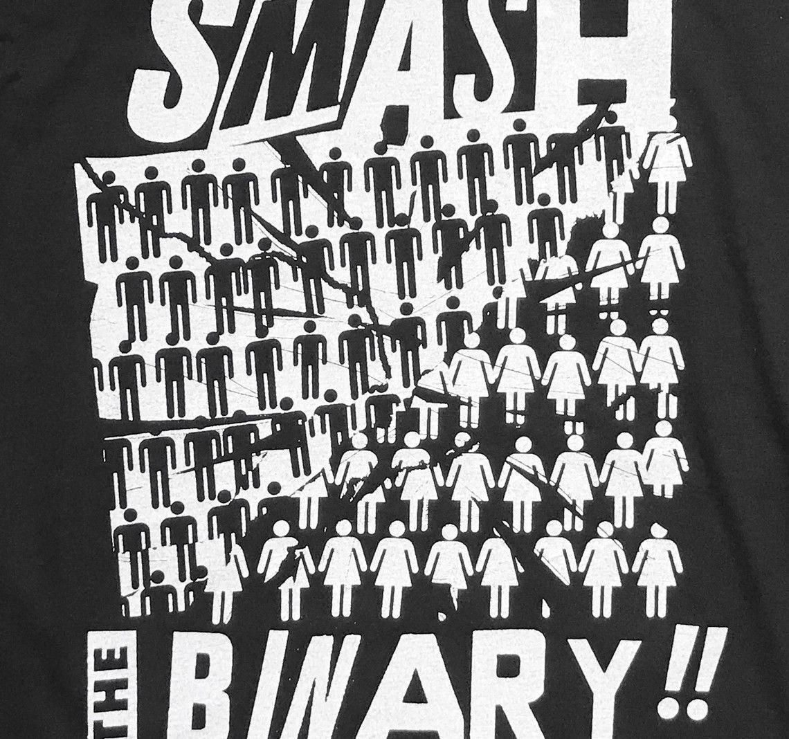 c54bdb7692a Smash the Binary T-Shirt - Black - T-Shirts - Revel   Riot Online ...