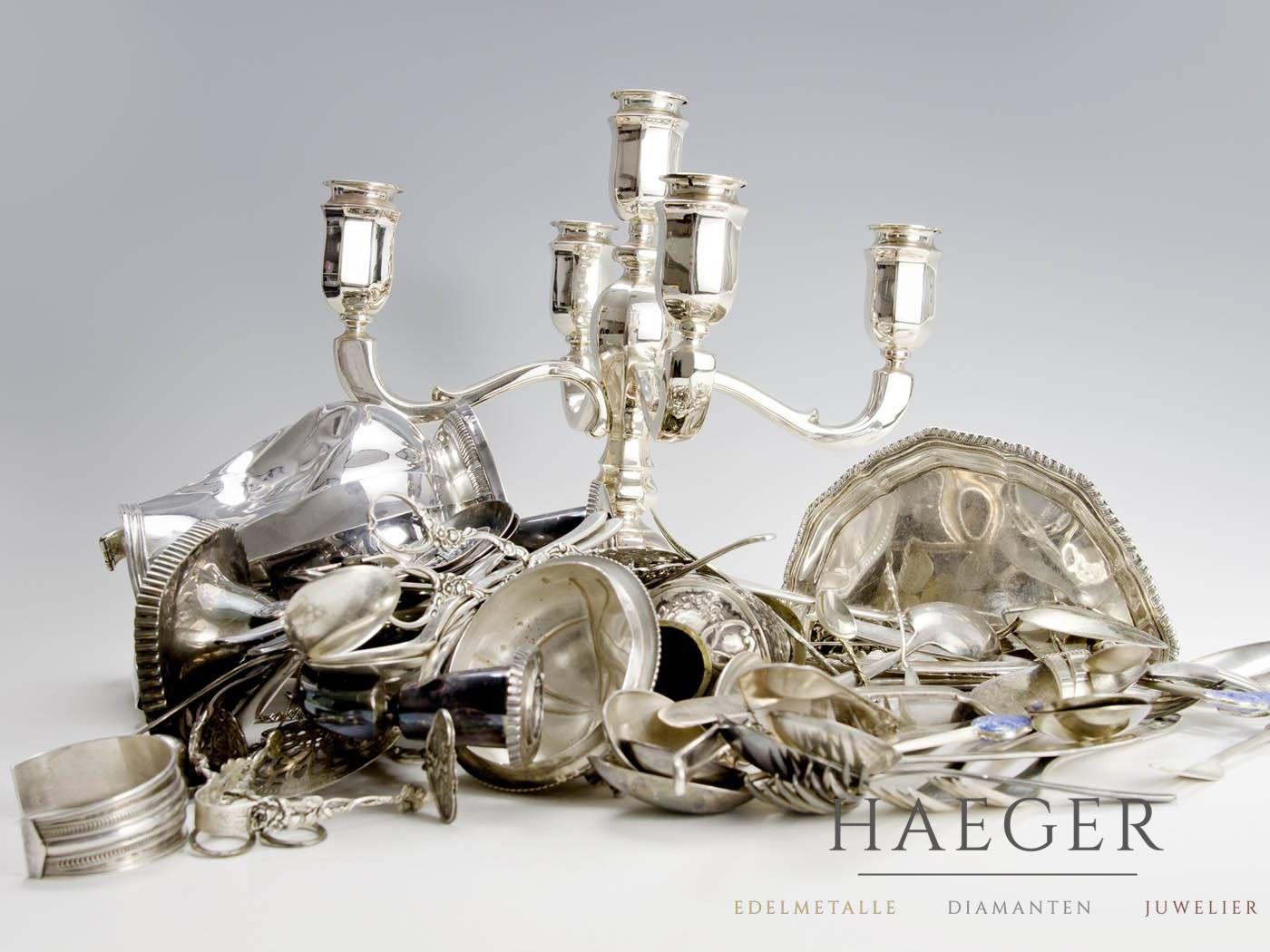 Silber Verkaufen Bei Der Haeger Gmbh Silber Silbermünzen Silberbesteck