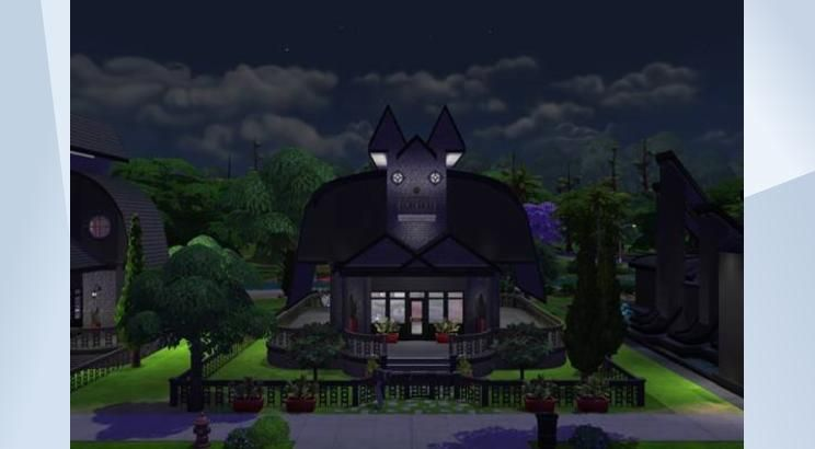 Check out this lot in The Sims 4 Gallery! - #cute#halloween #family #bat home…