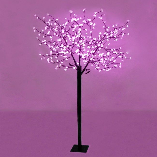 Large Decorative Pink Blossom Sakura Style Led Tree Light For Indoor Outdoor Use Cherry Blossom Decor Bonsai Styles Cherry Blossom Tree