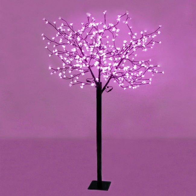 Large Decorative Pink Blossom Bonsai Style LED Tree Light for