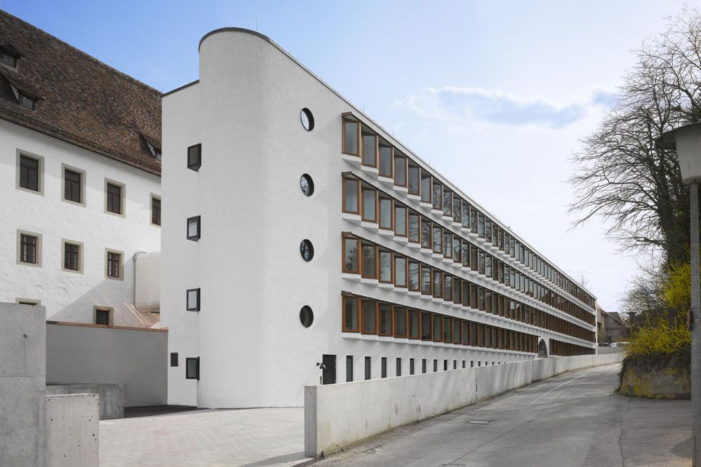 Diocesan curia and archive in rottenburg lederer - Architektur geschenke ...