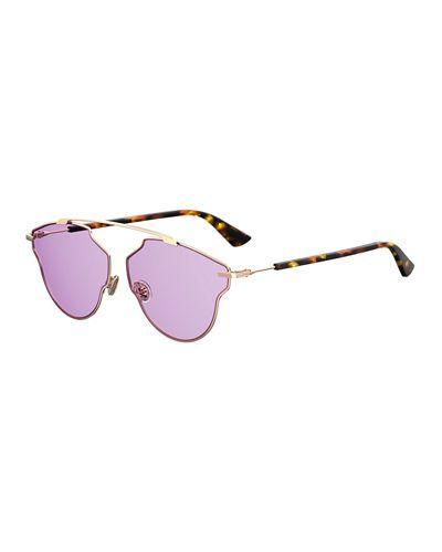 44dff2fa7cc5 So Real Pop Monochromatic Sunglasses. DIOR ...