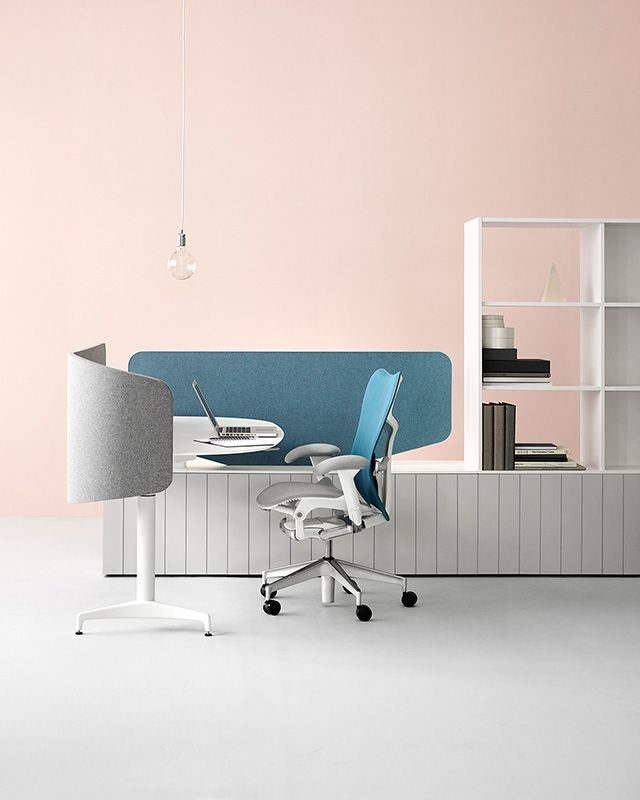 Locale office by Industrial Facility for Herman Miller furniture