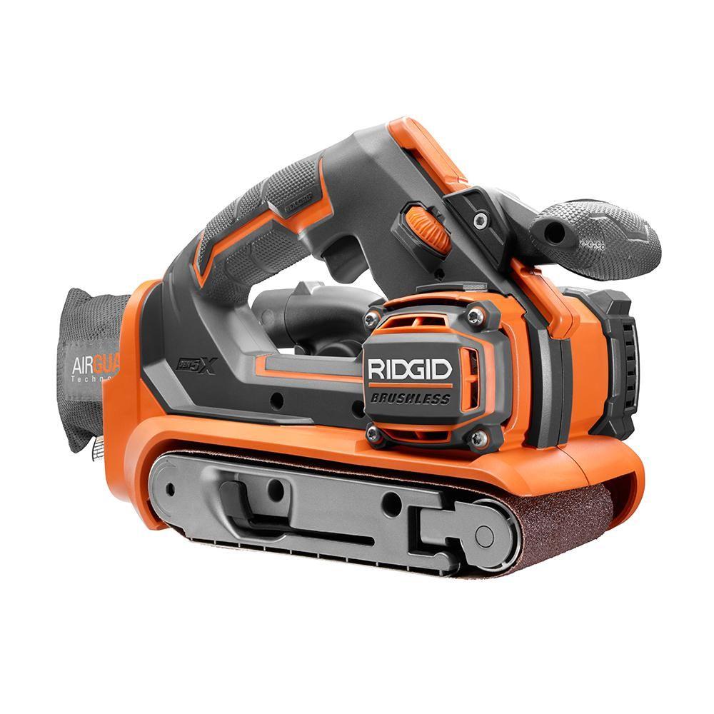 Ridgid Gen5x Cordless Tool Giveaway Belt Sander Cordless Tools Ridgid Tools