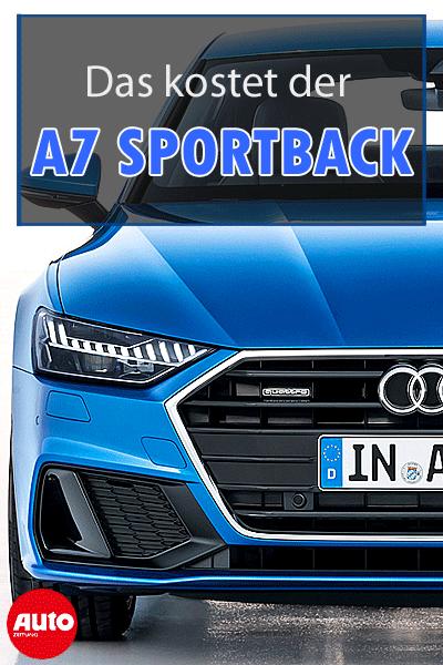 Hier Gibt S Alles Zum Audi A7 Sportback Audi A7 A7sportback Audi A7 Audi Autozeitung